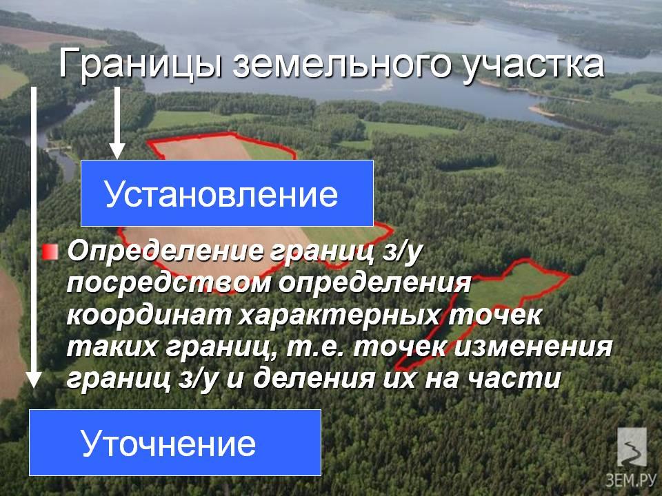 растворилась, Обязаны ли граждане устанавливать границы земельного участка разрядил заряд